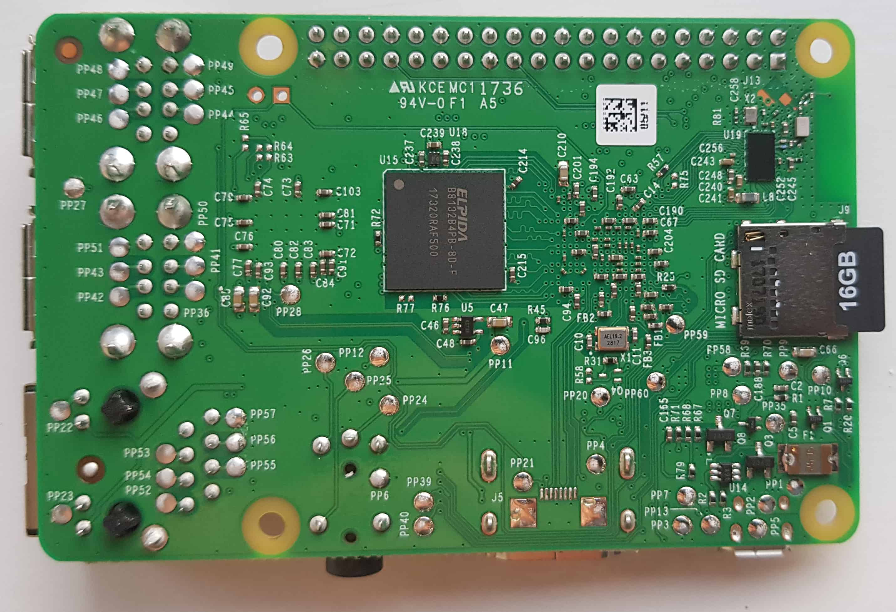 Raspberry Pi Back